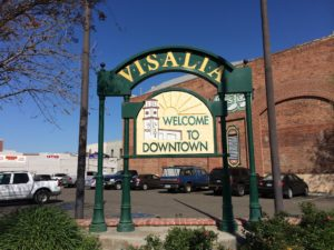 visalia car transport